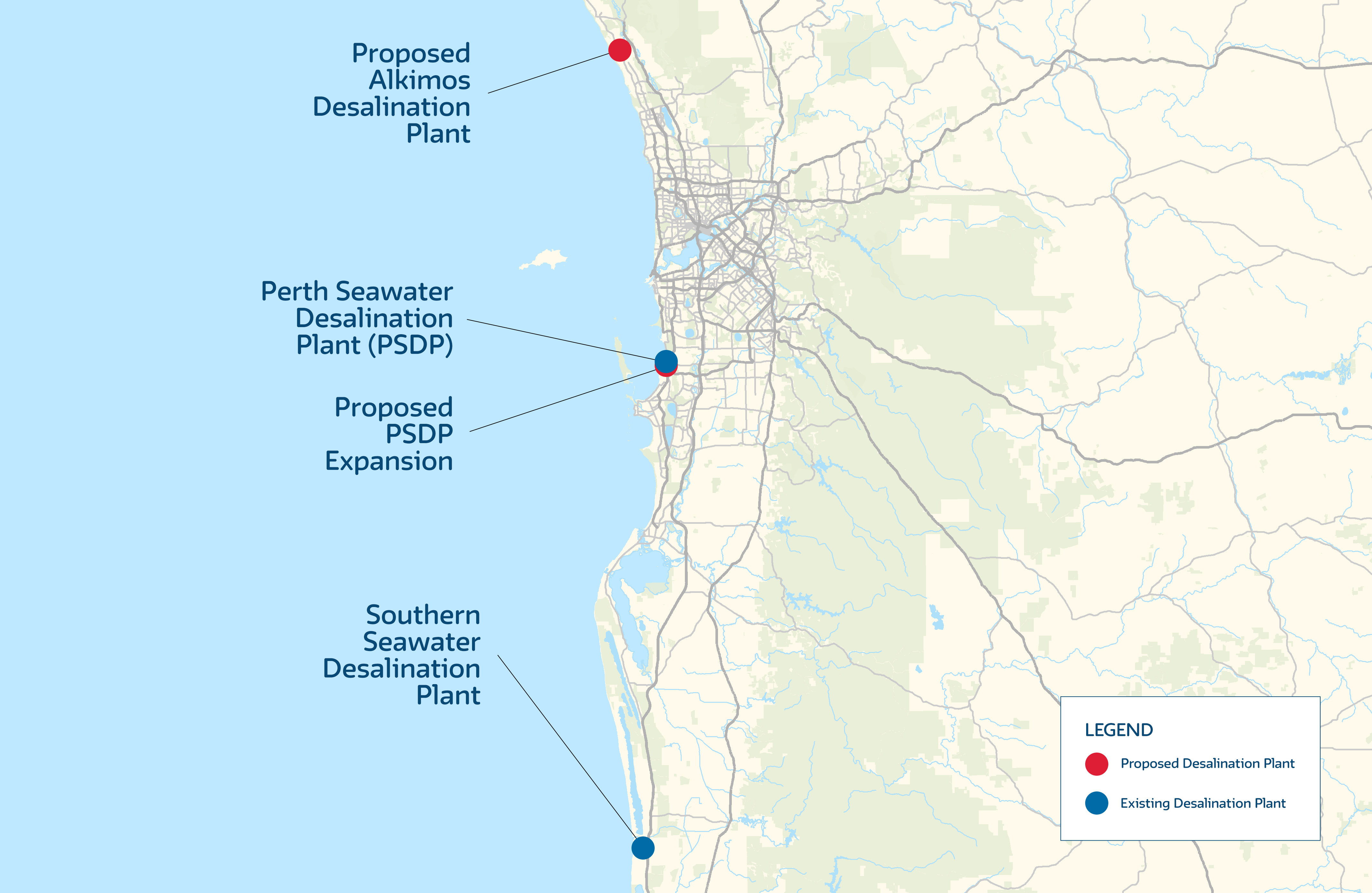 Possible Future Perth Desalination Plants Your Say Water Corporation