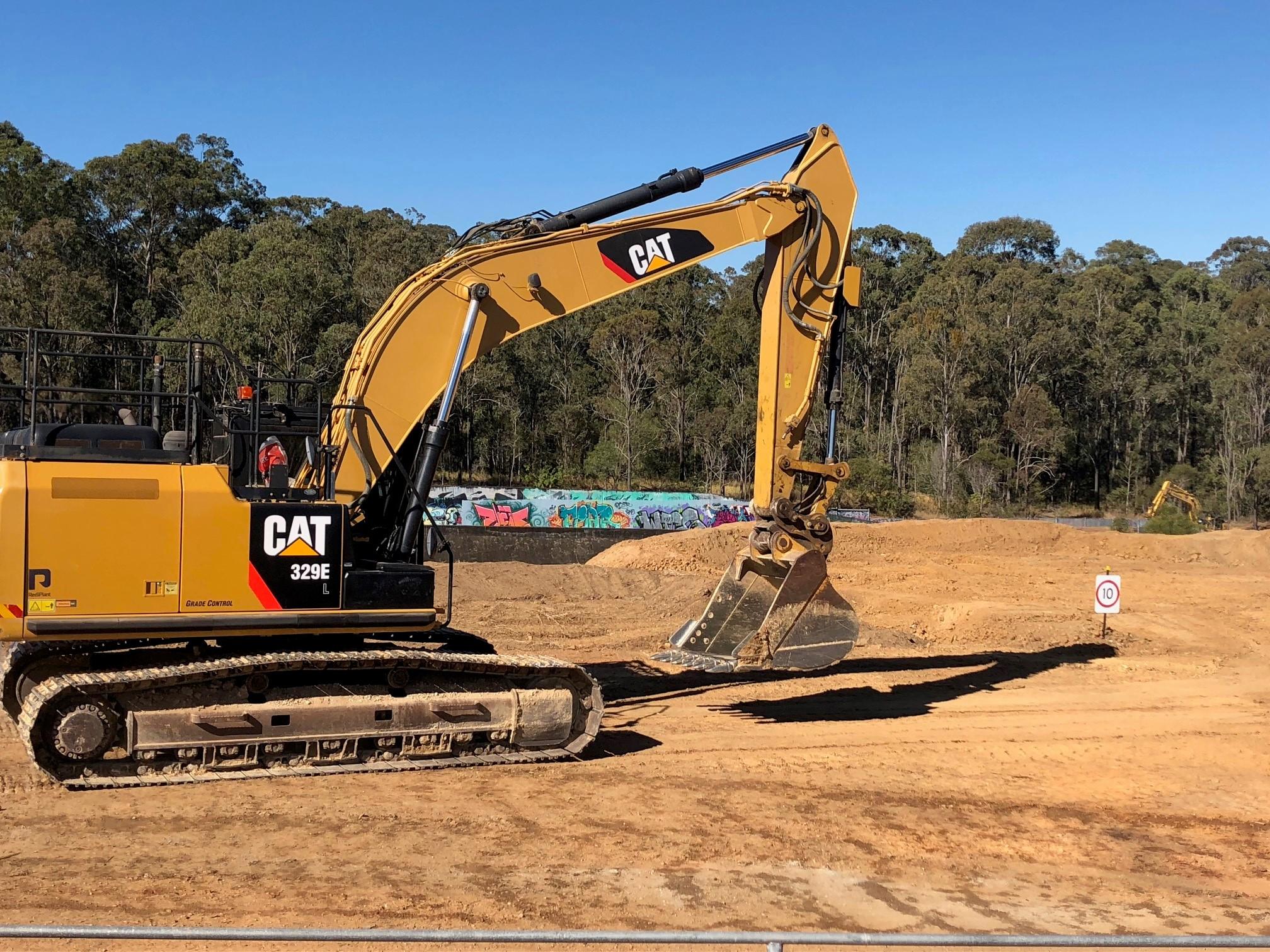 Photo   excavator   scdu