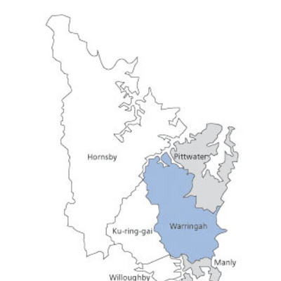 Map Option C - Warringah paper