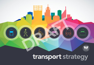 Draft transport strategy   cover image