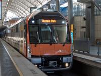 Waratah series 2 train testing