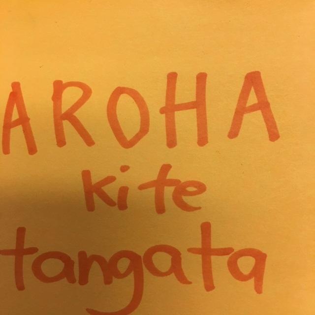 """""""Aroha ki te tangata"""""""