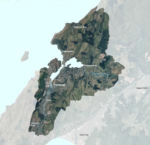 Porirua_catchment_map