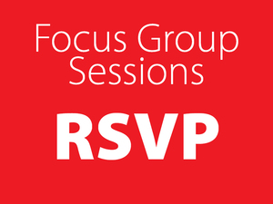 Focus group rsvp tile