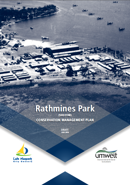 Rathmines Park draft Conservation Management Plan
