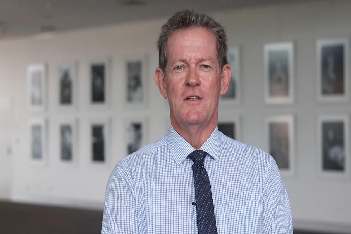 Mayor, Cr Andy Ireland