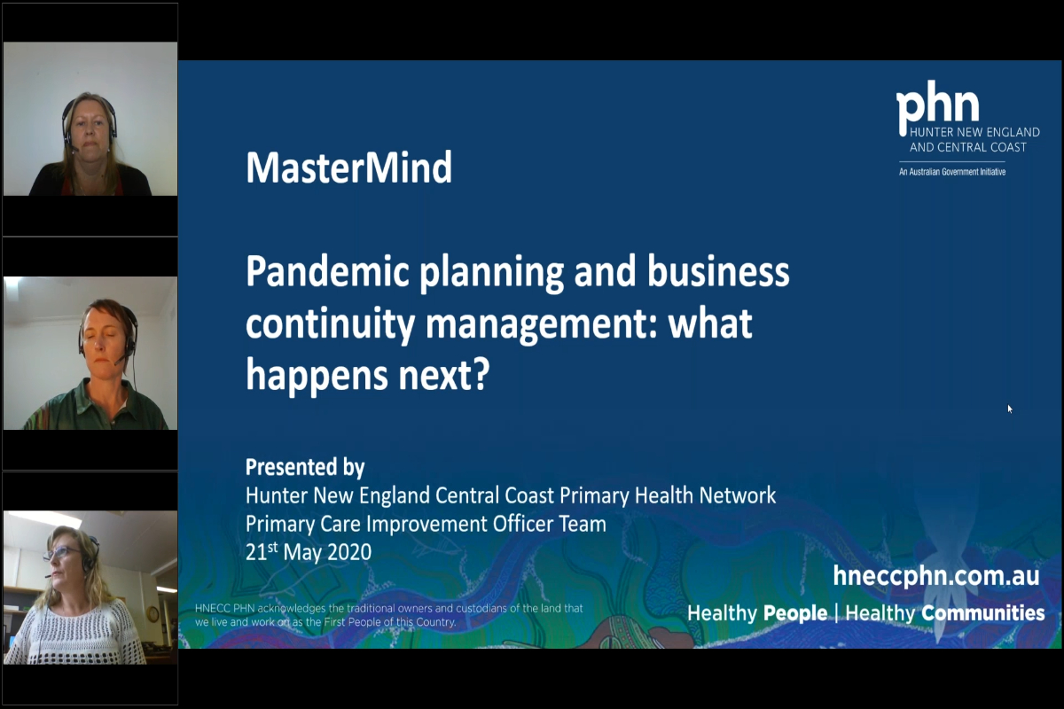 Mastermind - Pandemic planning & Business Continuity Management