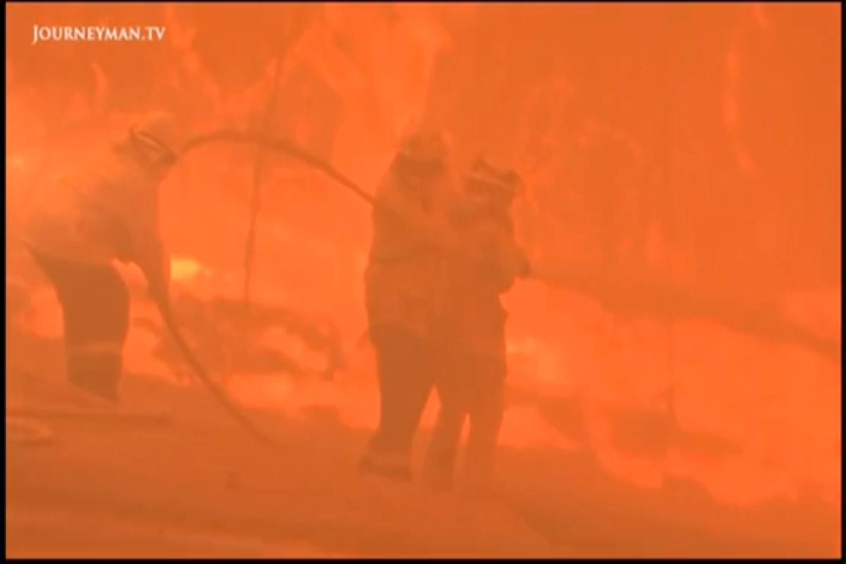 """Bush Fires- Be Prepared"""