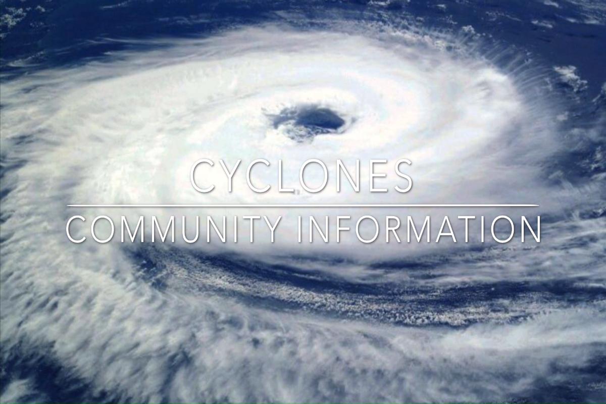 """Be Prepared Cyclone Warning"" Matthew Flinders Anglican College"