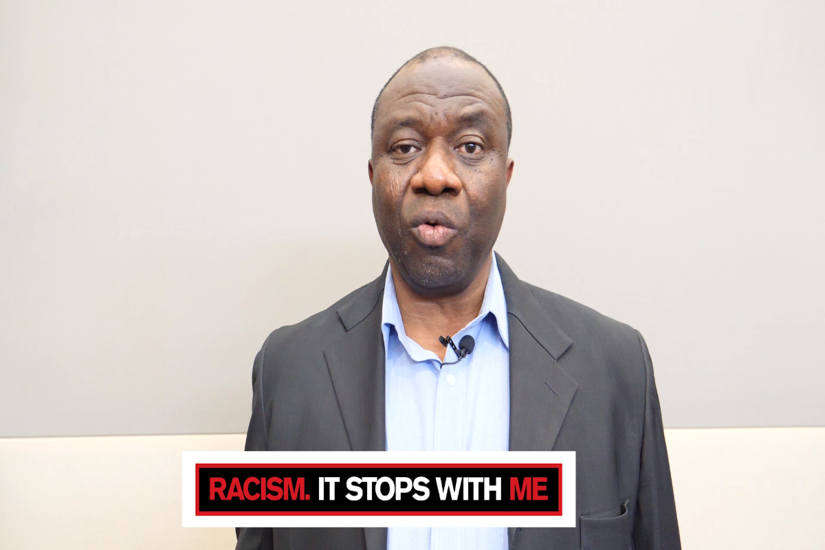 Racism. It Stops With Me: Ephraim Osaghe