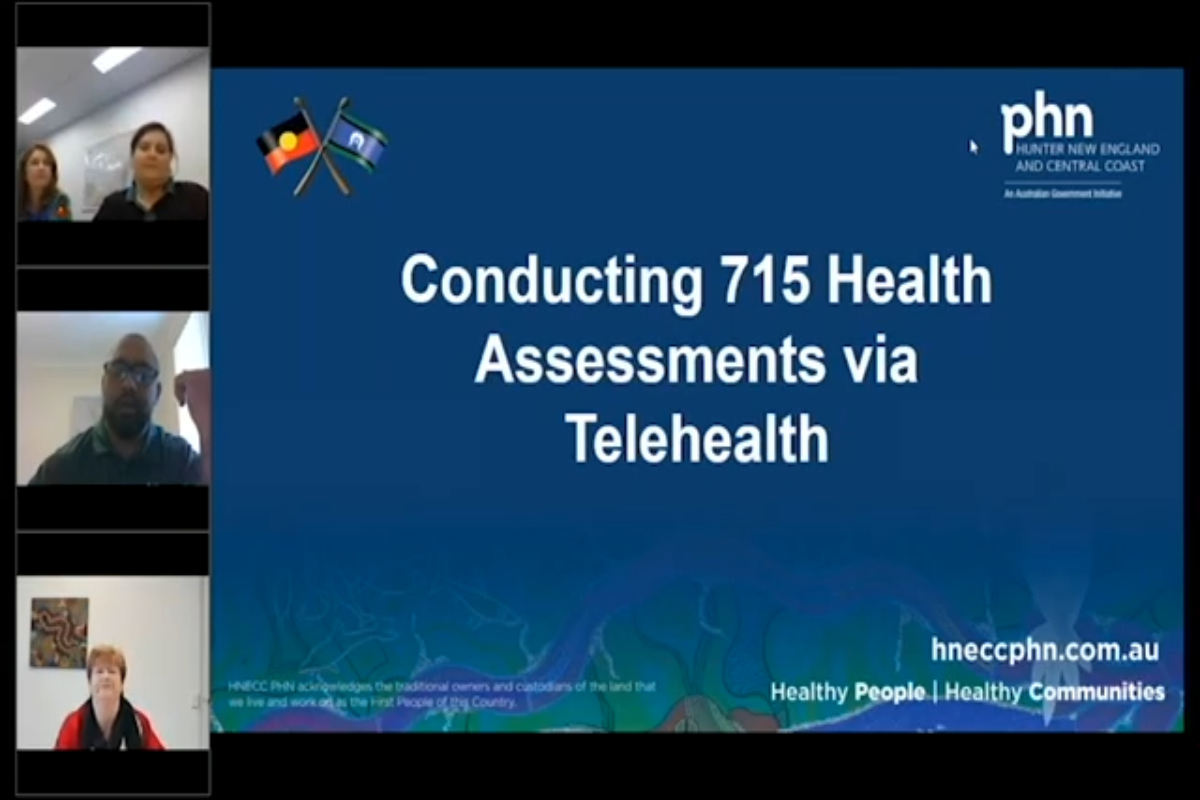 Conducting 715 Health Assessments by Telehealth