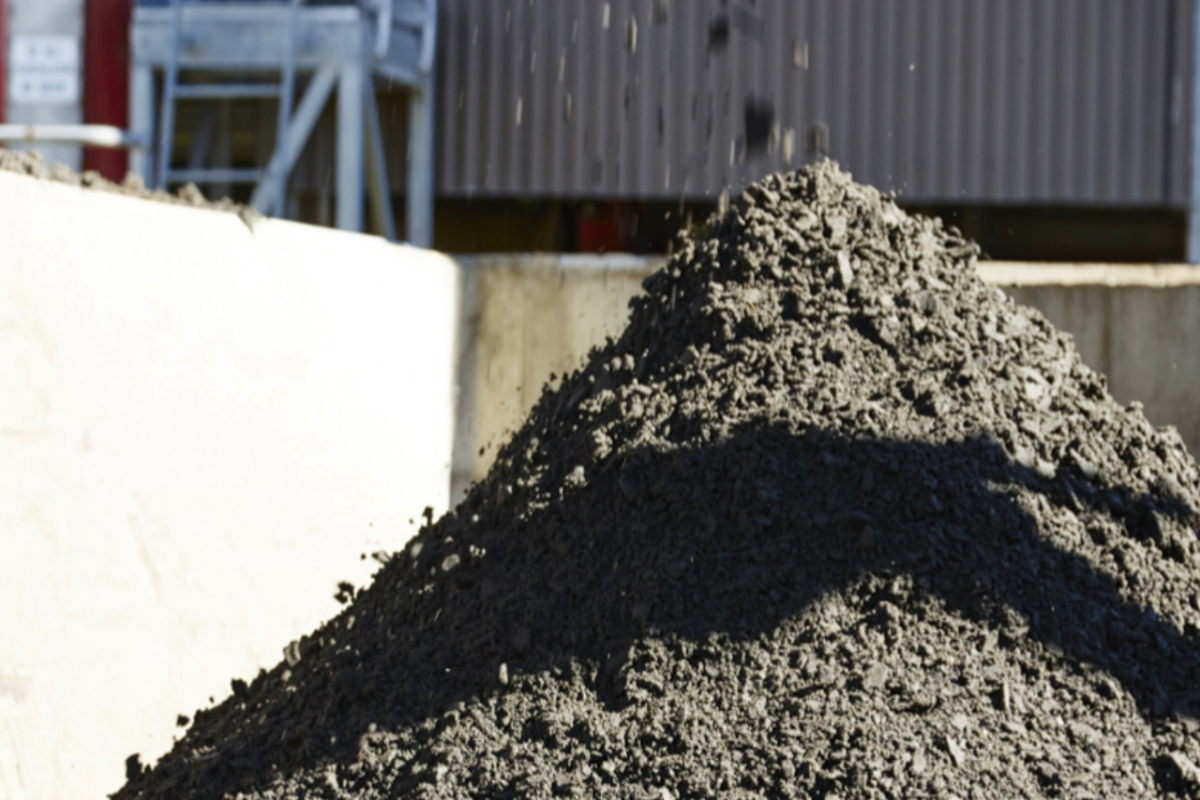 Biosolids - sludge to soil conditioner