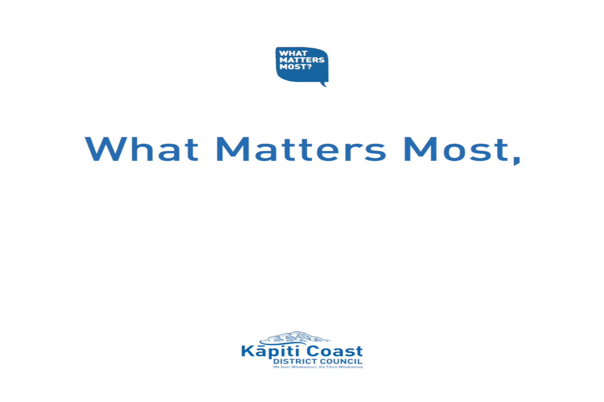 What matters most as we experience growth across the district?