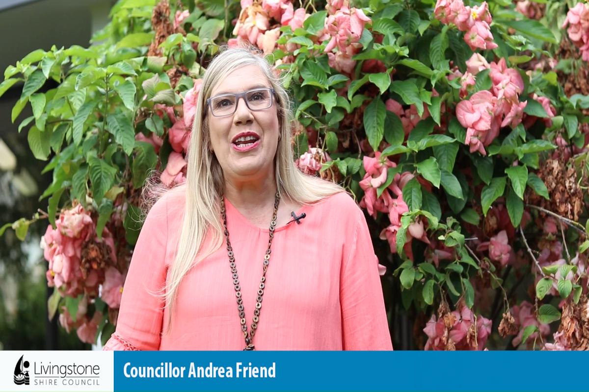 Cr Andrea Friend