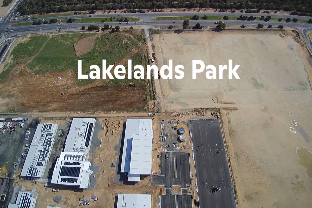 Lakelands District Open Space - Construction Montage