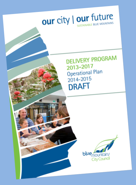 Delivery Program / Operational Plan Cover