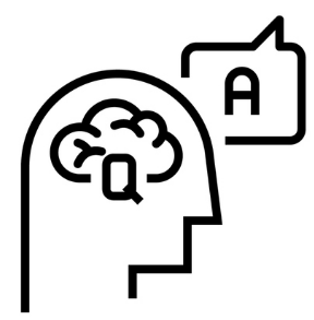 icon of person thinking