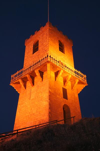 Centenary tower sunset 2004 %281%29
