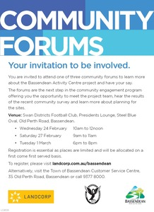 2016 02 05 community forum ad
