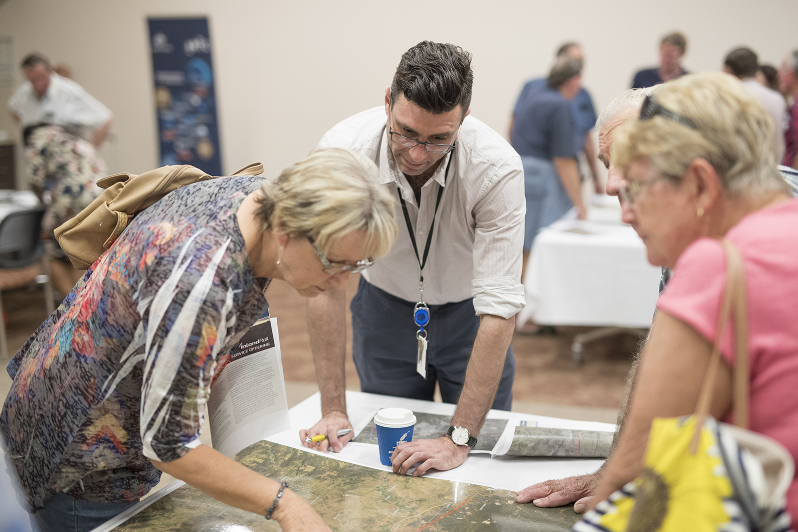 Community members are invited to take part in consultation sessions across the proposed alignment