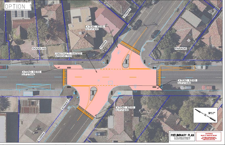 Yarra street option 1