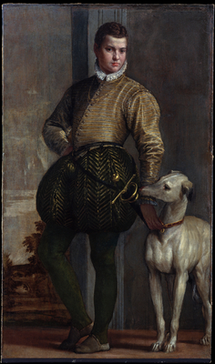 Boy With A Greyhound, but Paolo Veronese
