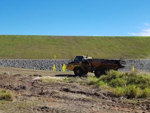 09072018 dump truck on site 1