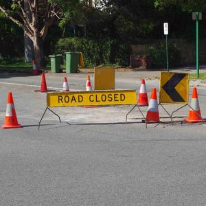 Road closure 2