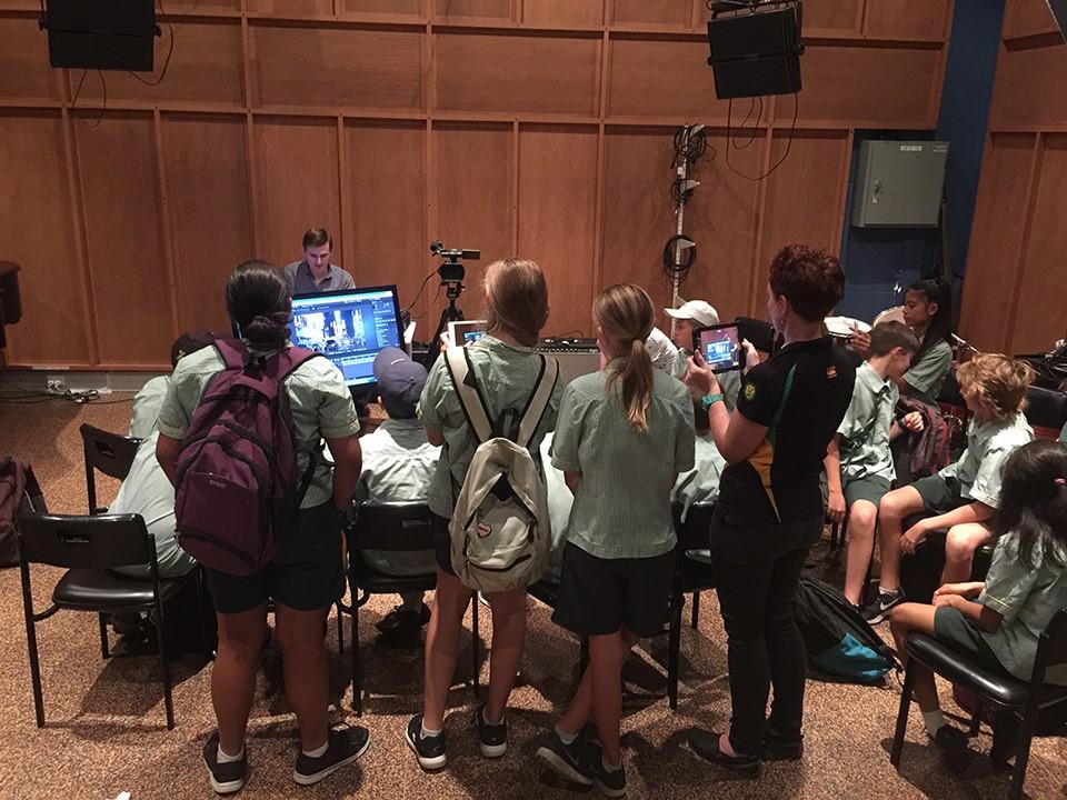 Steven pace   digital media workshops for regional students