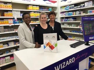 Wapha pharmacy visit