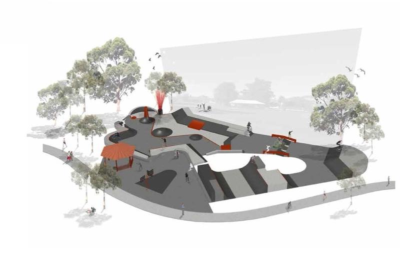 Holborn Park Skate Plaza - Overview