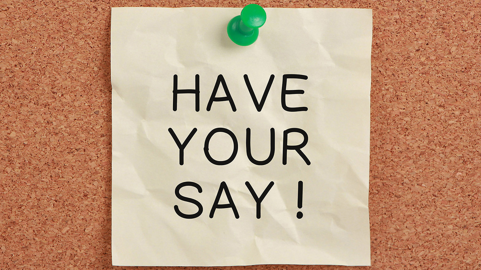 Have your say