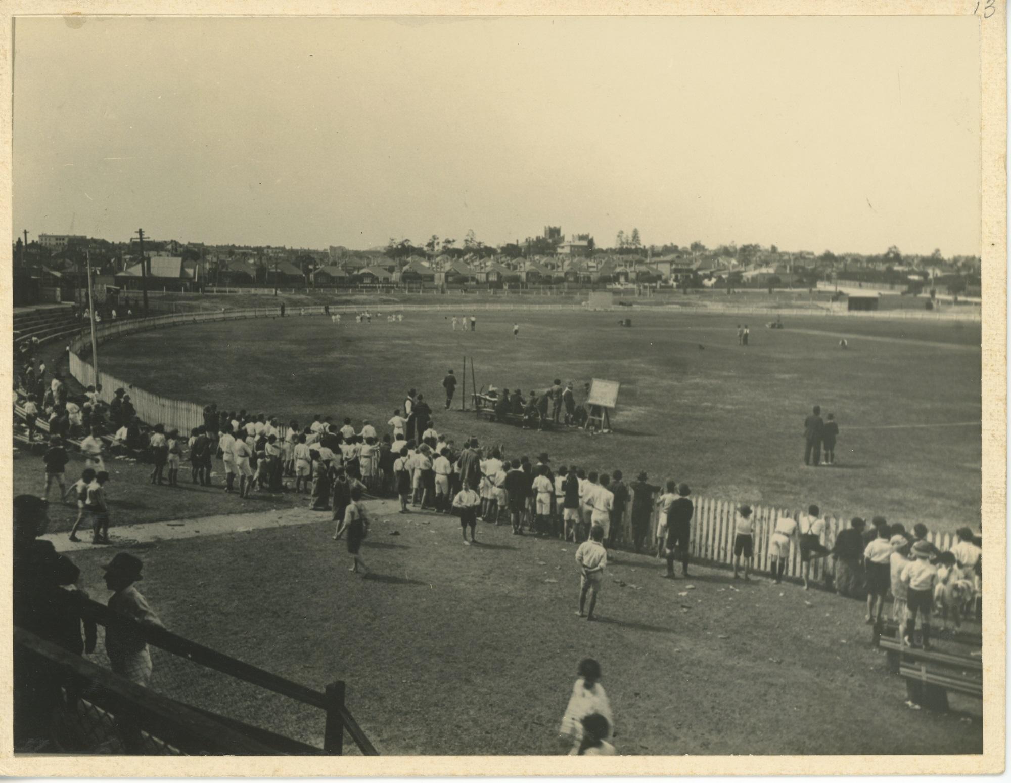 Marrickville oval