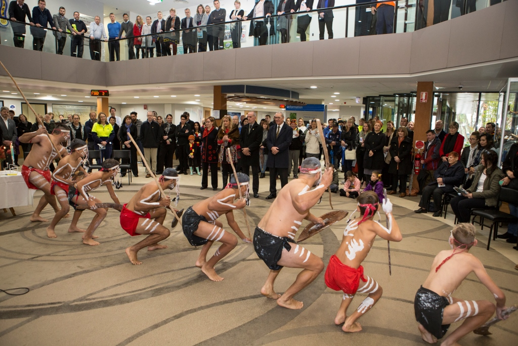 Dancers perform at lmcc naidoc ceremony