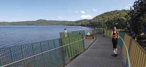 Narrabeen lagoon aquatic boardwalk   webtile