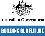 Australian Government Building Our Future Logo