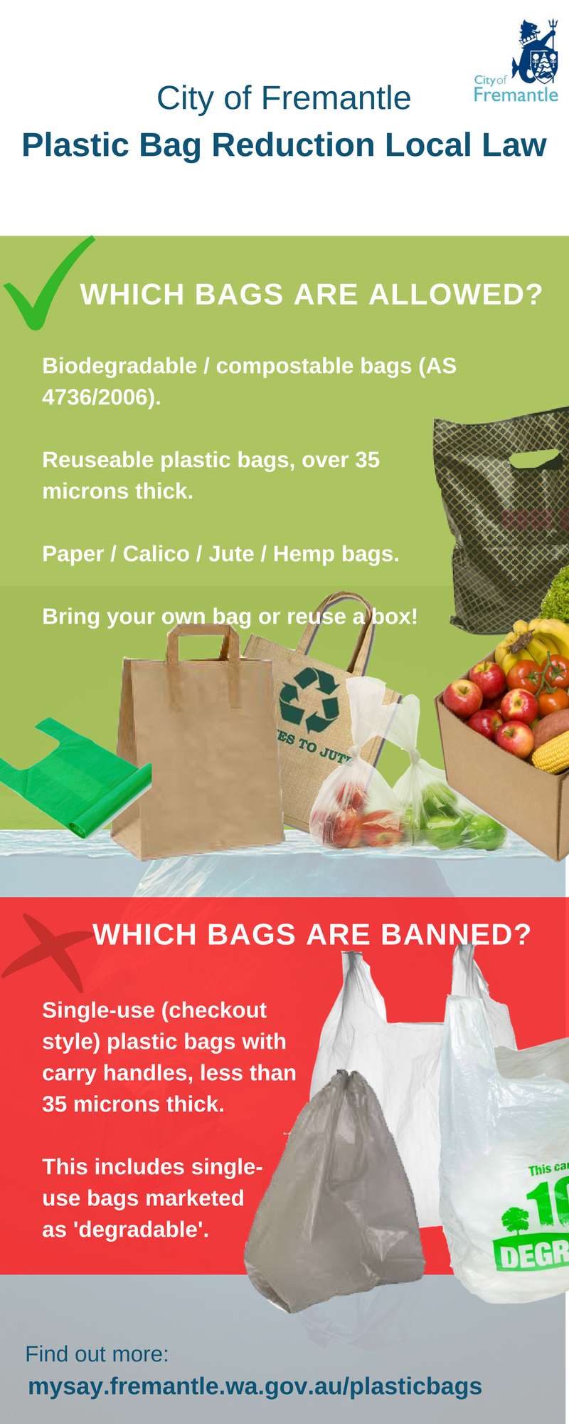 reduce usage of plastic bag