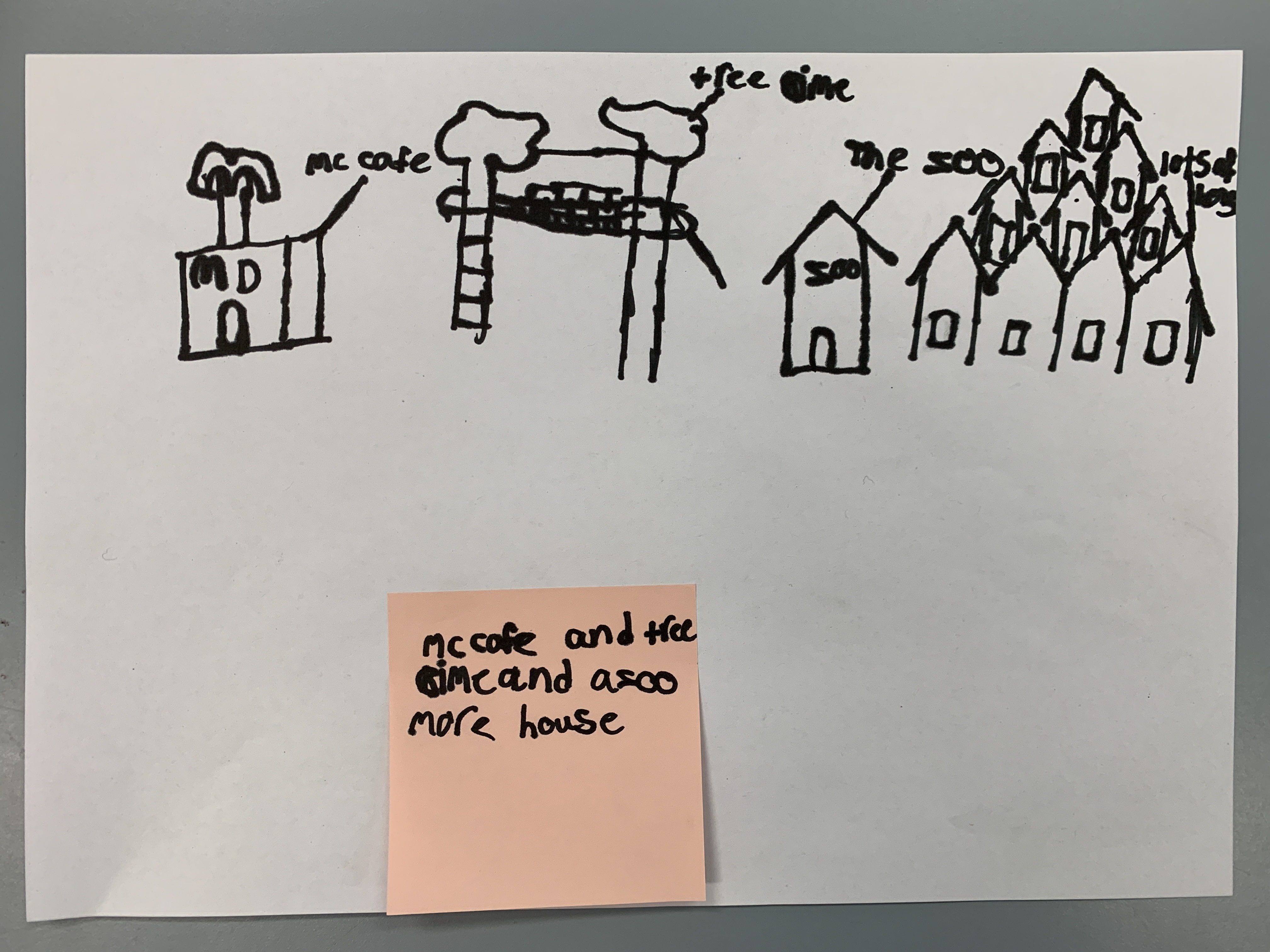 8. treeclimb  mccafe and more houses