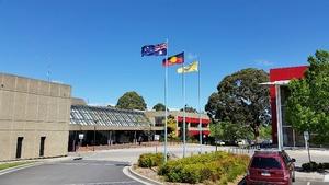 Flags nowra admin bldg 2016