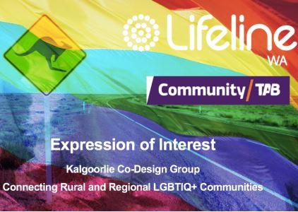 Kalgoorlie lgbtiq  and ally co design workshop