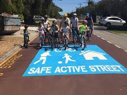 Safe active street image