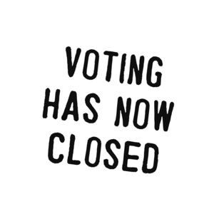 Voting has now closed