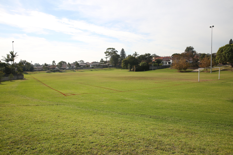 Algie park soccer field