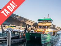 Tada ferry wharf