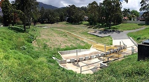 Foothills Road Detention Basin, Mount Ousley