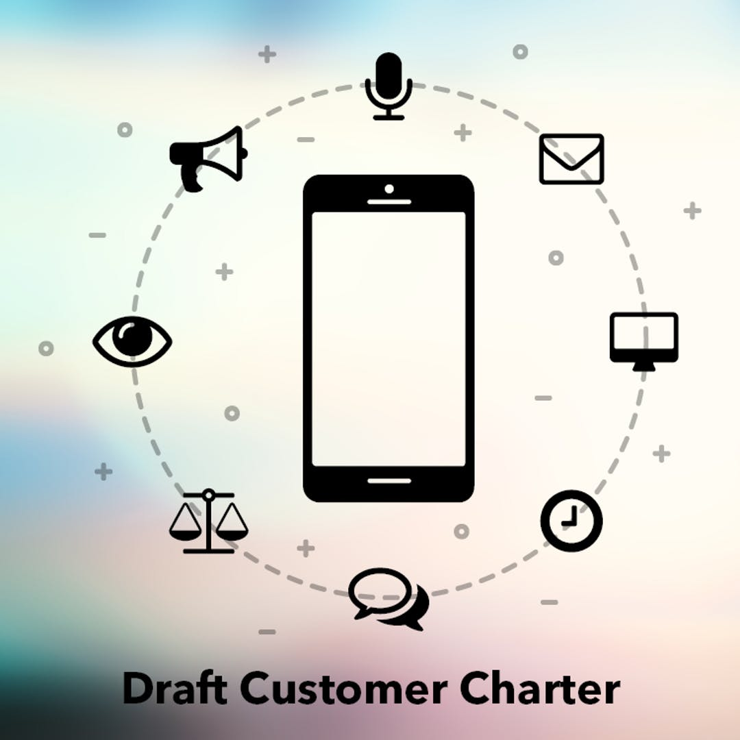 Draft customer charter have your say 750x750