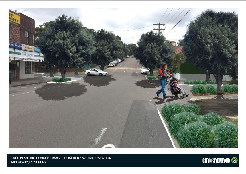 Ripon way rosebery tree planting concept image