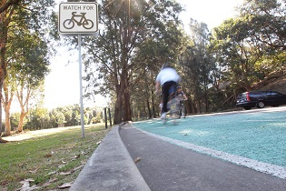 Separated cycleway