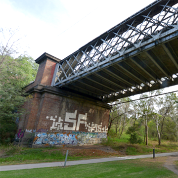 Image of the Chandler Highway bridge