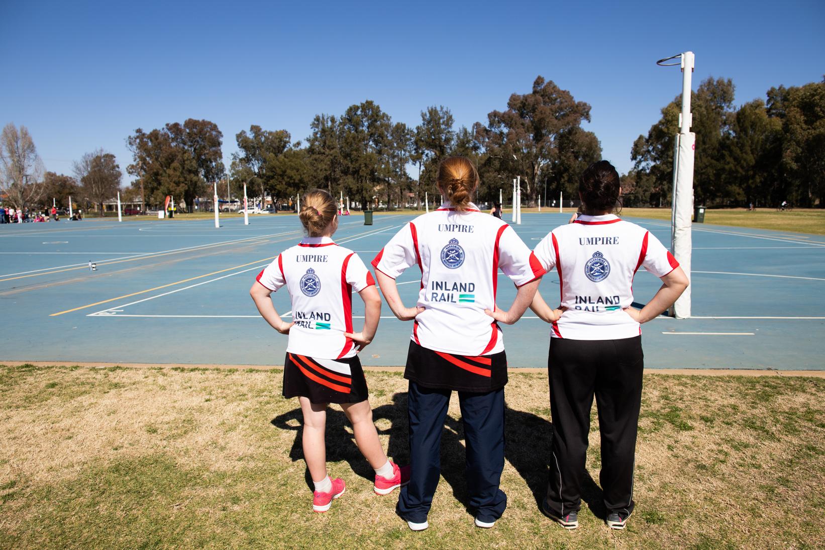 Narromine netball team